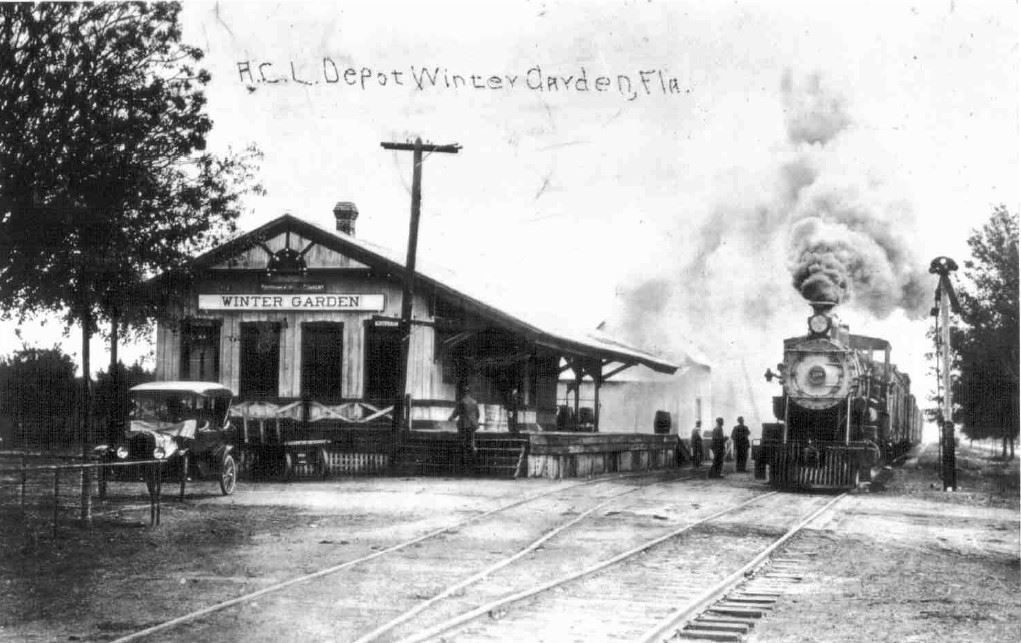 History Photo 5 - Train Station